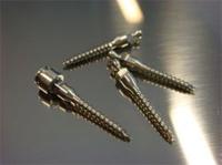 Micro placas e parafusos de titânio
