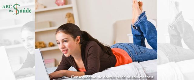 Consequências de dormir tarde na adolescência - ABC da Saúde